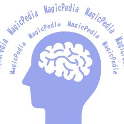 マジックペディアアイコン 無料 オンライン手品教室 マジックペディア